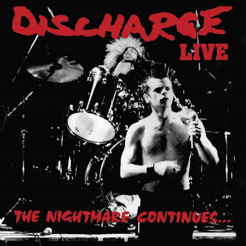 Discharge - The Nightmare Continues… Live VINYL 12""