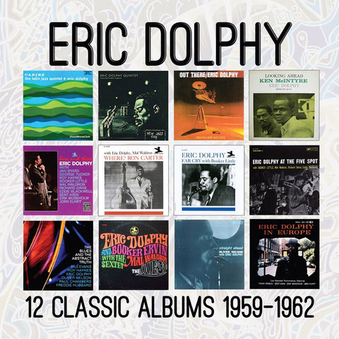 Eric Dolphy - 12 Classic Albums 1959-1962 CD BOX