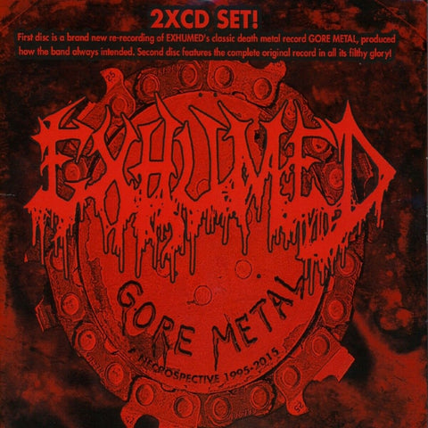Exhumed - Gore Metal: A Necrospective 1998-2015 CD DOUBLE