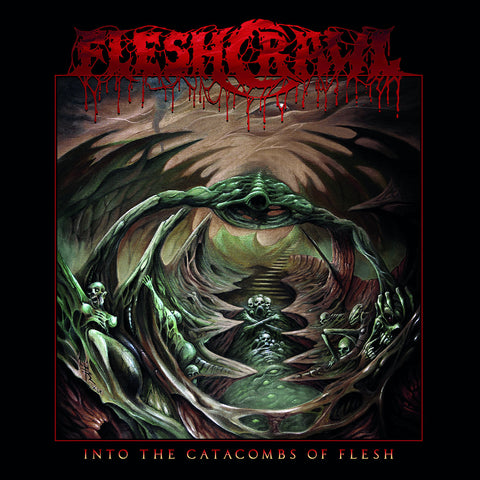 Fleshcrawl - Into The Catacombs Of Flesh CD