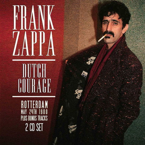 Frank Zappa - Dutch Courage CD DOUBLE