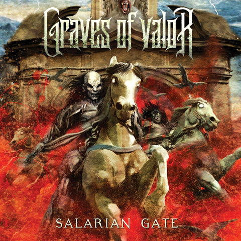 Graves Of Valor - Salarian Gate CD