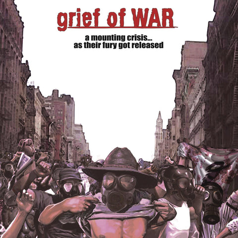 Grief Of War - A Mounting Crisis... As Their Fury Got Released CD