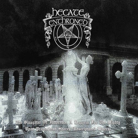 Hecate Enthroned - The Slaughter Of.../Upon Promeathean... CD DOUBLE DIGIPACK