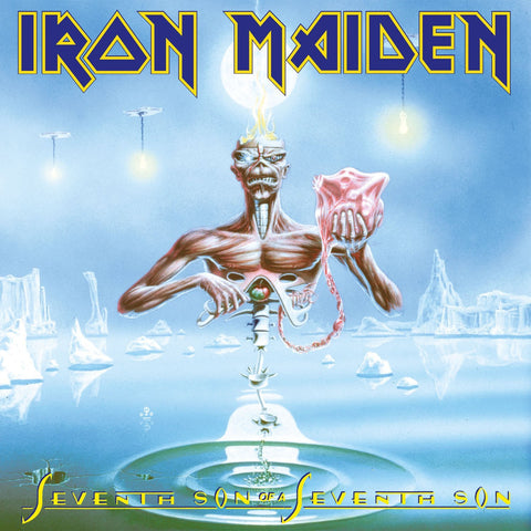 Iron Maiden - Seventh Son Of A Seventh Son VINYL 12""