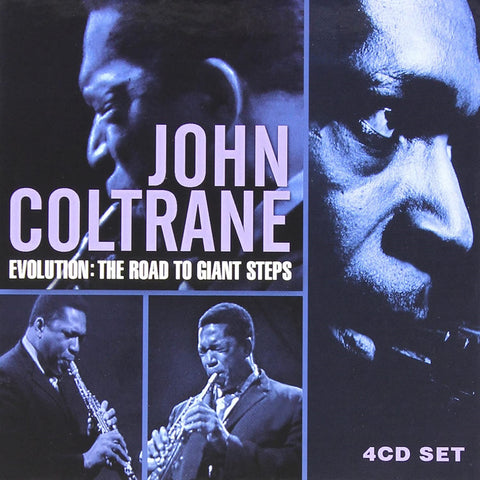 John Coltrane - Evolution: The Road To Giant Steps CD BOX