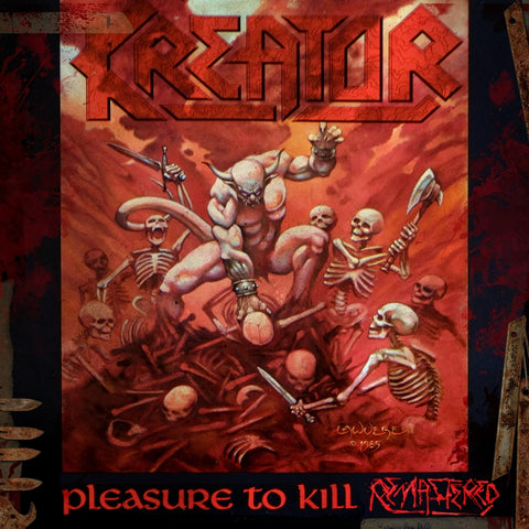 Kreator - Pleasure To Kill CD DIGIPACK