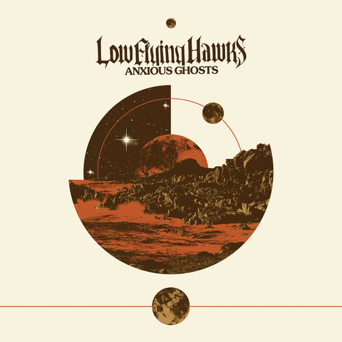 Low Flying Hawks - Anxious Ghosts CD DIGIPACK