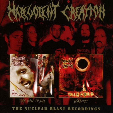 Malevolent Creation - The Nuclear Blast Recordings CD DOUBLE