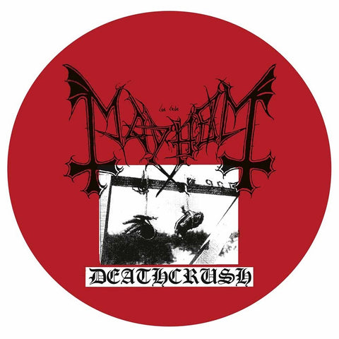 "Mayhem - Deathcrush VINYL 12"" PICTURE DISC"