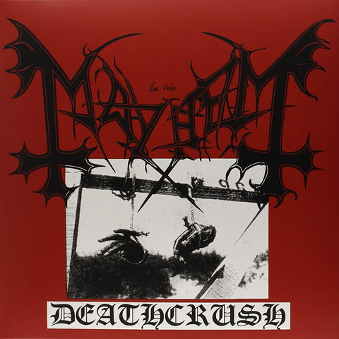 Mayhem - Deathcrush VINYL 12""