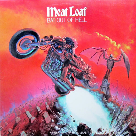 Meat Loaf - Bat Out Of Hell VINYL 12""