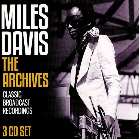 Miles Davis - The Archives CD TRIPLE