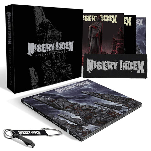 Misery Index - Rituals Of Power CD BOX