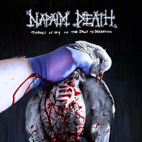 Napalm Death - Throes Of Joy In The Jaws Of Defeatism VINYL 12""