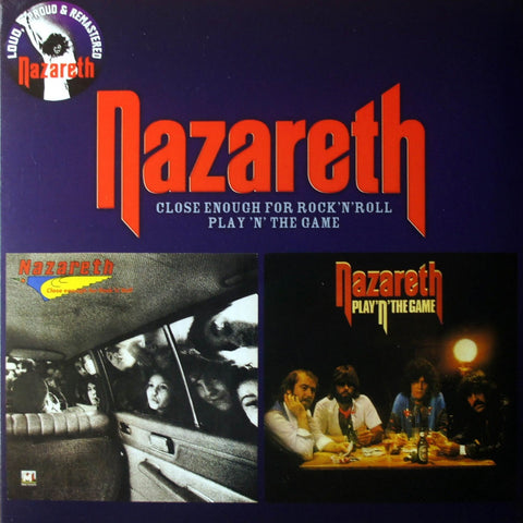 Nazareth - Close Enough For Rock 'N' Roll/Play 'N' The Game CD DIGISLEEVE