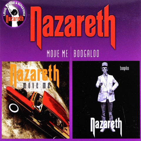 Nazareth - Move Me/Boogaloo CD DOUBLE DIGIPACK