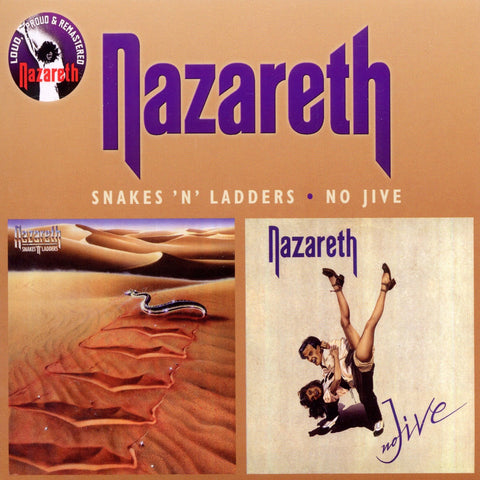 Nazareth - Snakes 'N' Ladders/No Jive CD DOUBLE DIGIPACK