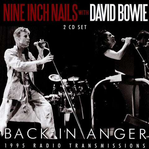 Nine Inch Nails with David Bowie - Back In Anger CD DOUBLE