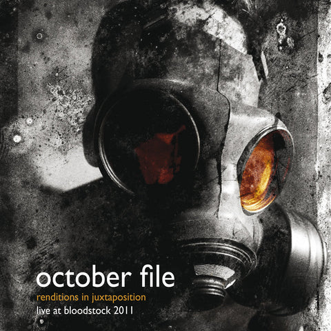October File - Renditions In Juxtaposition - Live At Bloodstock CD/DVD DIGIBOOK