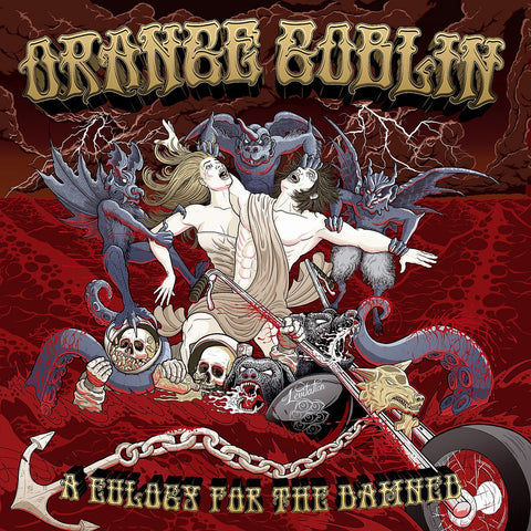 Orange Goblin - A Eulogy For The Damned CD/DVD DIGIBOOK