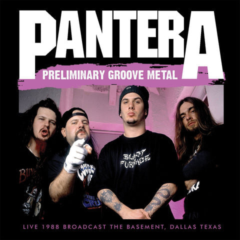 Pantera - Preliminary Groove Metal CD