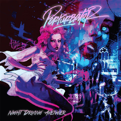 Perturbator - Night Driving Avenger CD DIGIPACK