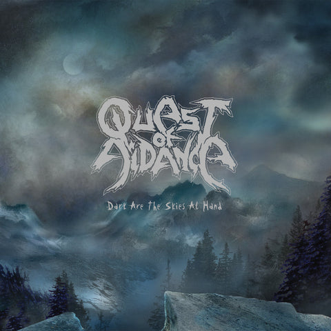 Quest Of Aidance - Dark Are The Skies At Hand VINYL 10""
