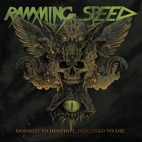 Ramming Speed - Doomed To Destroy, Destined To Die CD DIGISLEEVE
