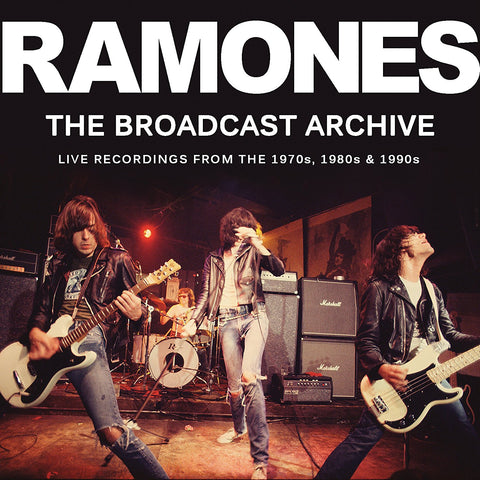 Ramones - The Broadcast Archives CD TRIPLE
