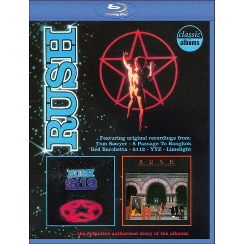 Rush - 2112 & Moving Pictures BLU-RAY
