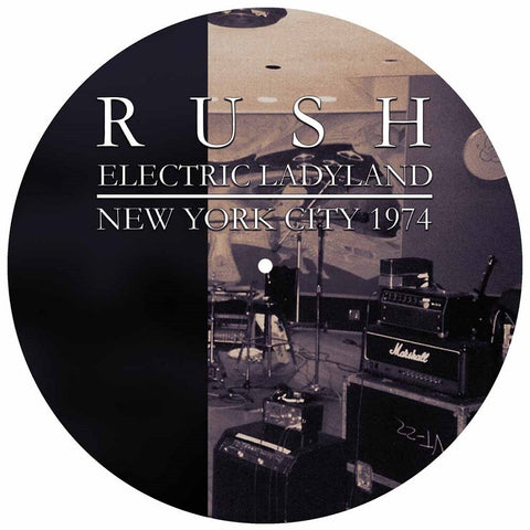 "Rush - Electric Ladyland New York City 1974 VINYL 12"" PICTURE DISC"