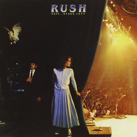Rush - Exit... Stage Left CD