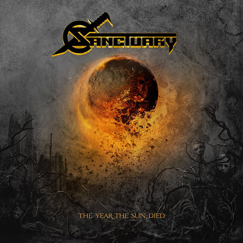 Sanctuary - The Year The Sun Died VINYL 12""