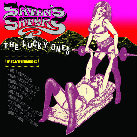 Satan's Satyrs - The Lucky Ones CD