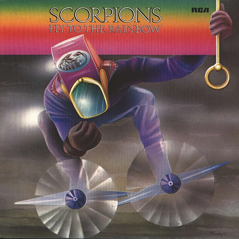 Scorpions - Fly To The Rainbow CD