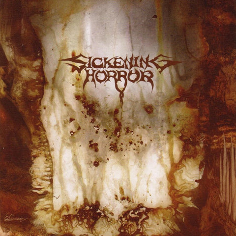 Sickening Horror - When Landscapes Bled Backwards CD