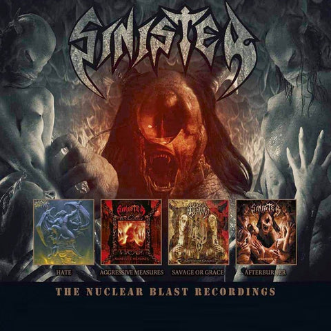 Sinister - The Nuclear Blast Recordings CD BOX