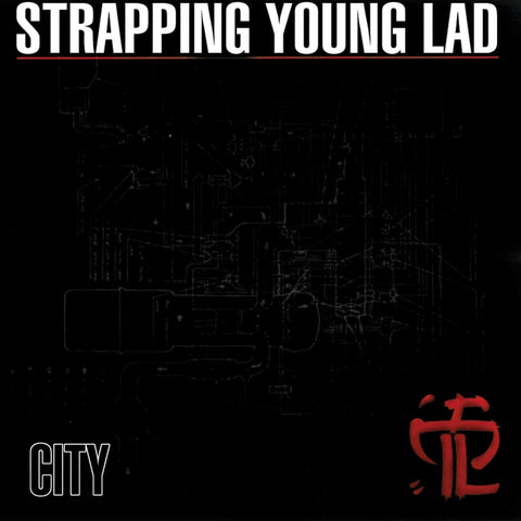 Strapping Young Lad - City CD