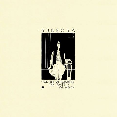 Subrosa - For This We Fought The Battle Of Ages CD DIGISLEEVE
