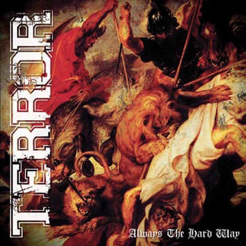 Terror - Always The Hard Way CD/DVD DIGISLEEVE