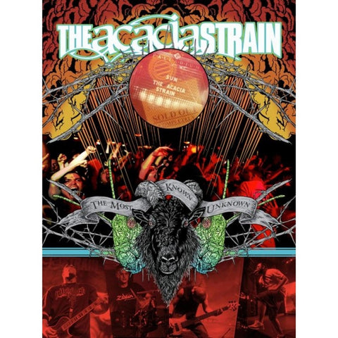 The Acacia Strain - The Most Known Unknown DVD DOUBLE