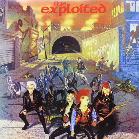 The Exploited - Troops Of Tomorrow VINYL DOUBLE 12""