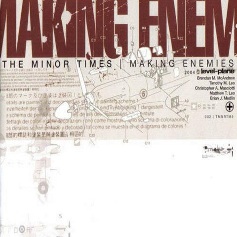 The Minor Times - Making Enemies CD