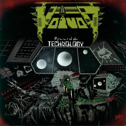 Voïvod - Killing Technology CD DOUBLE/DVD DIGIPACK