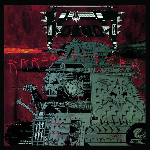 Voïvod - Rrröööaaarrr CD DOUBLE/DVD DIGIPACK