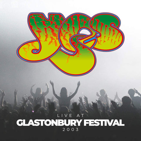 Yes - Live At Glastonbury Festival 2003 VINYL DOUBLE 12""