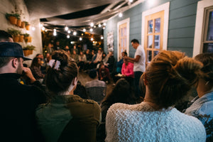 Be Free Stories Night at Mantra Coffee Co in Azusa California