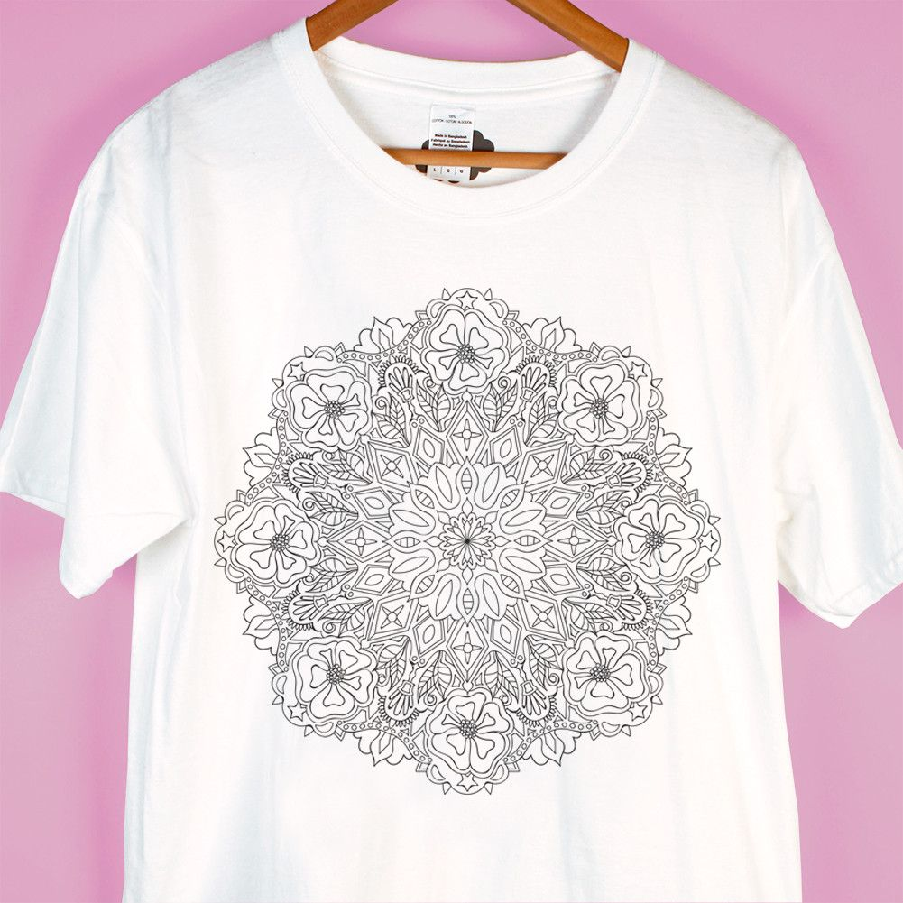 Symmetrical Bloom Mindfun T-Shirt