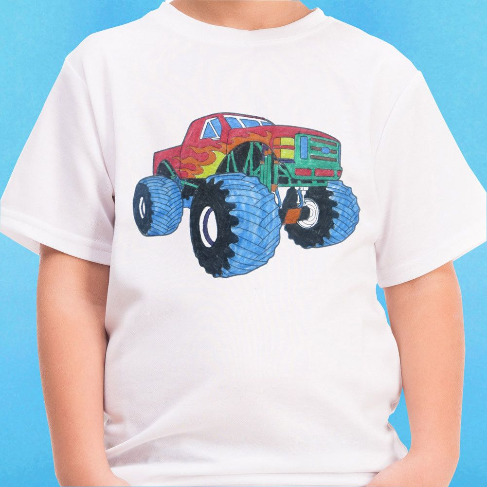 Mighty Monster Truck Mindfun T-Shirt